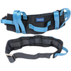 Physical Therapy Transfer Walking Gait Belt with 7 Handle Lift Strap Grip & Easy Release Metal Buckle. Also Available in Plastic Buckle.