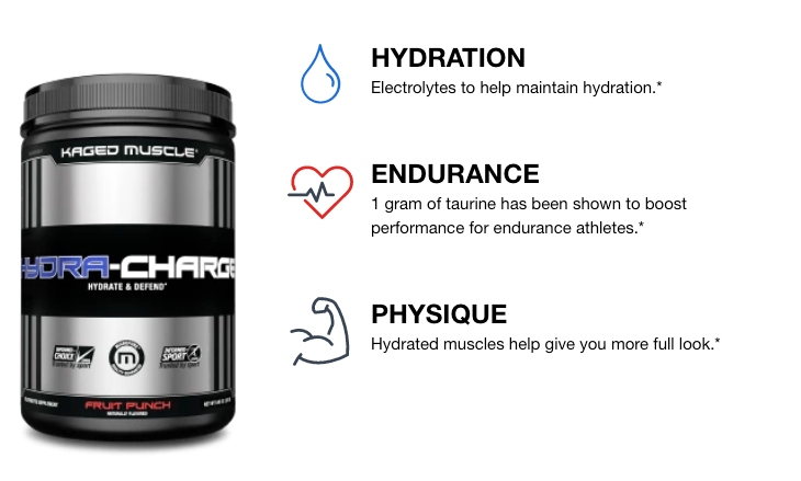 HYDRA CHARGE | GYM SUPPLEMENTS U.S