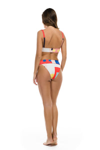 "Low Rise Bikini ""Colored Bricks"""