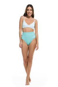 "High Waisted Bikini  ""Mint-Green Combo"""
