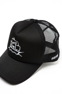 "Trucker Hat ""Macaw Pirate Boat"""