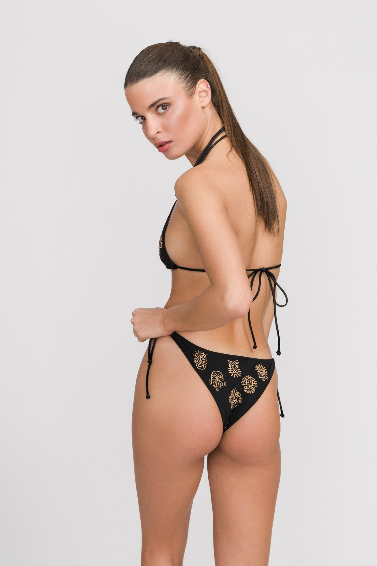 "Triangle Bikini ""Hail Haida"" Limited Edition"