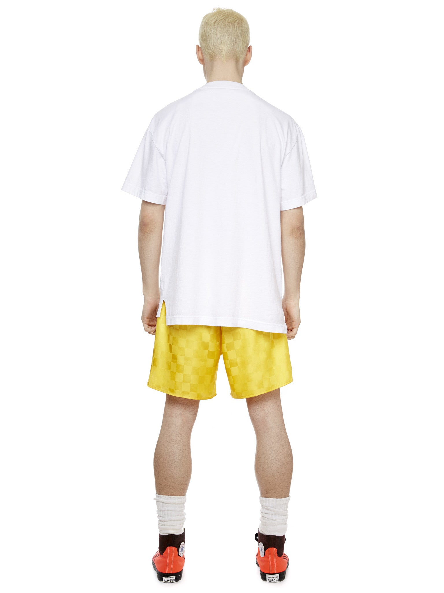 Soccer Short in Yellow