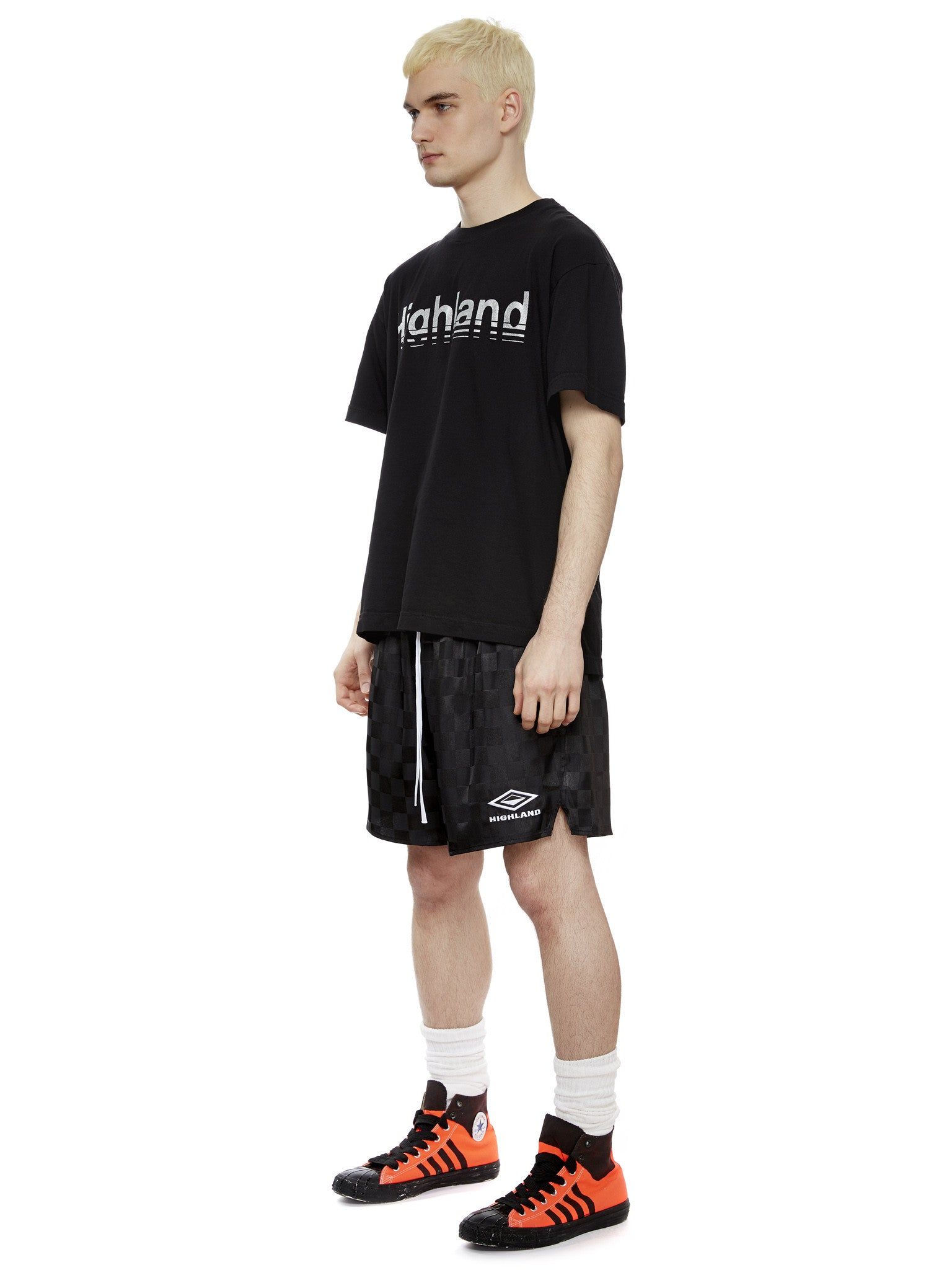 S/S Logo T-Shirt in Black/Silver