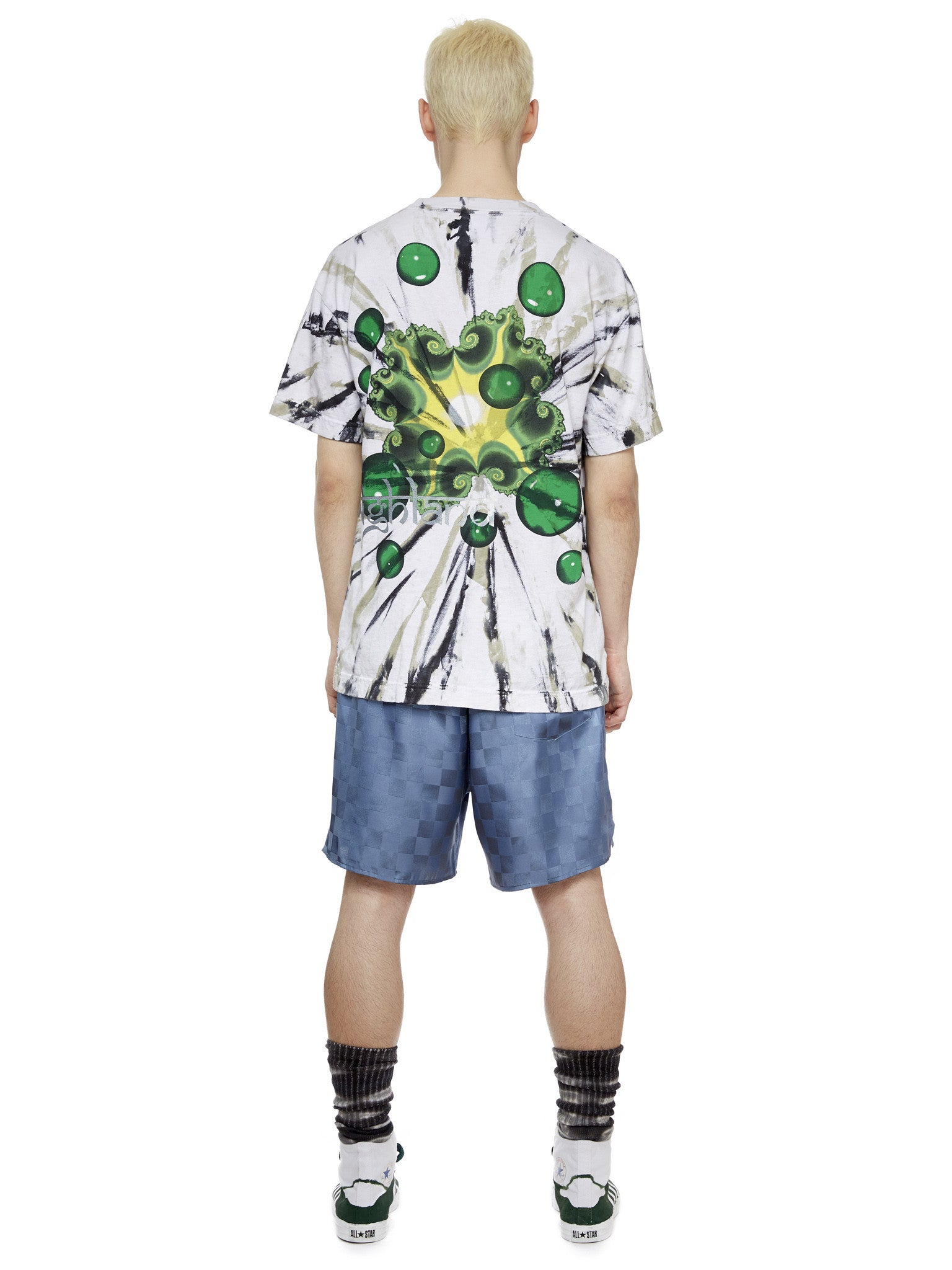 S/S Bubble T-Shirt in Green
