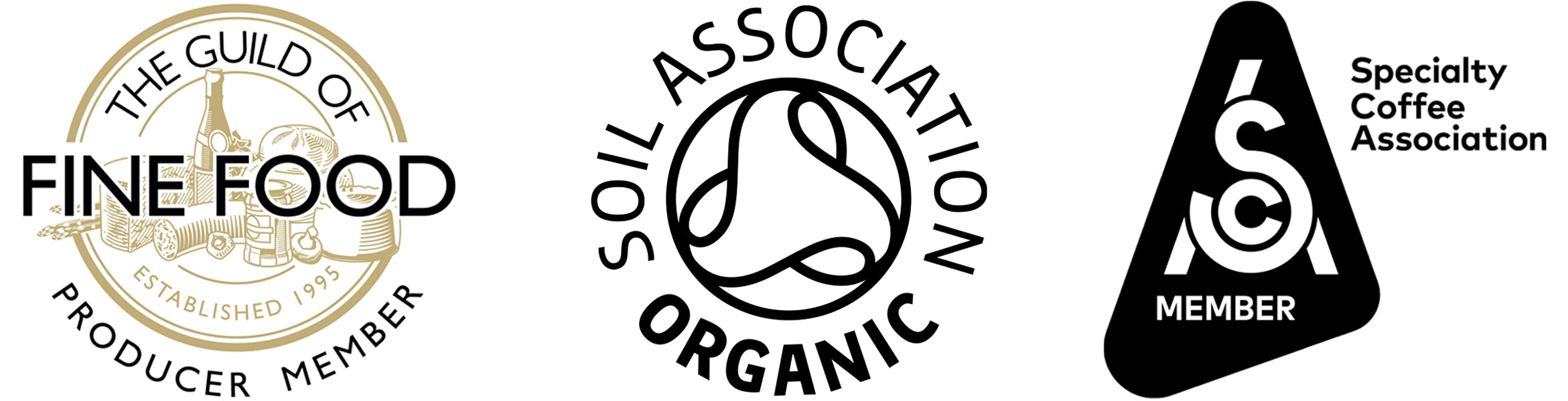 Norlo Coffee - Guild of fine food, speciality coffee association, soil association organic