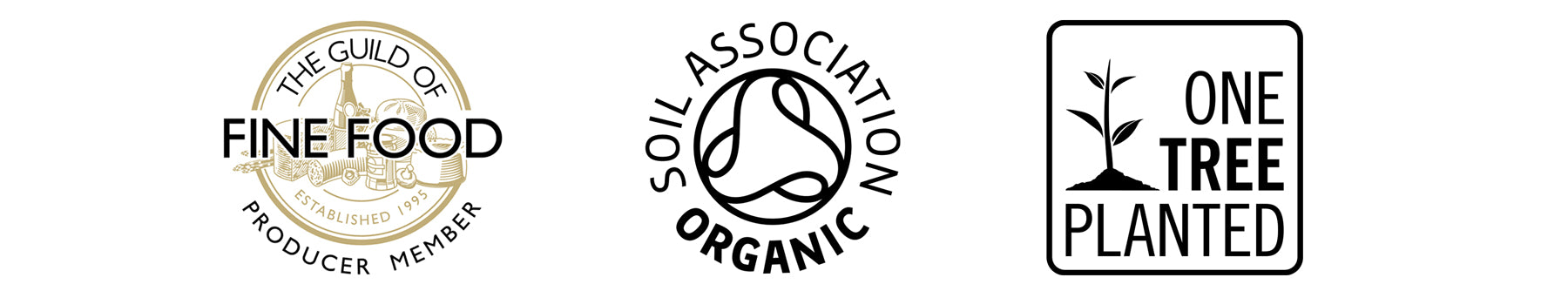 NORLO - Guild of fine food, one tree planted, soil association organic
