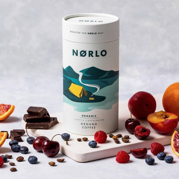 Norlo Organic Lightly Caffeinated Coffee Tube