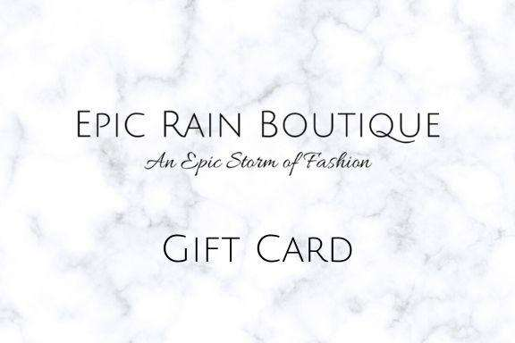 Epic Rain Boutique Giftcard