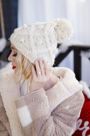 Winter Wonderland Knit Beanie