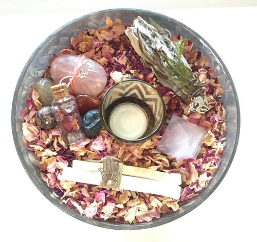 Happy Zen Kit - Rose-  Large Mercury Vase (urn style)