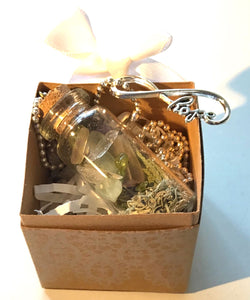 Wellness Nature Jar: Gift Box : floral