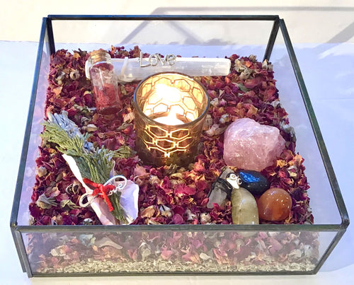 Happy Zen Kit- Rose Large Tray