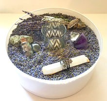 Load image into Gallery viewer, HAPPY ZEN KIT- LAVENDER (white round vase)