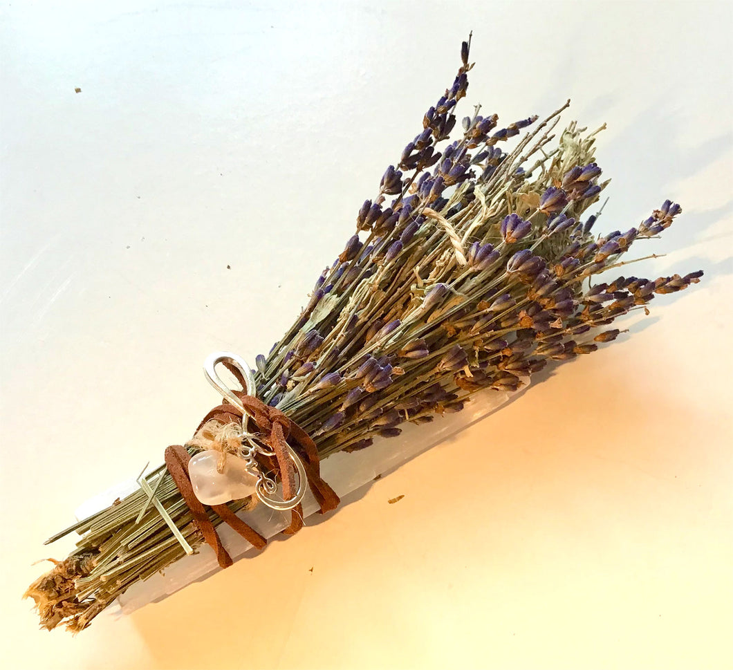 Purify Kit: 1: Lavender/Sage/ Selenite/ Crystal/Hope