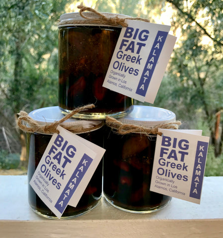 Kalamata Olives Grown in Los Olivos
