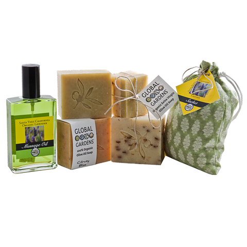 Olive Oil Spa Kit (highly recommended by Theo for the special lady in your life!)