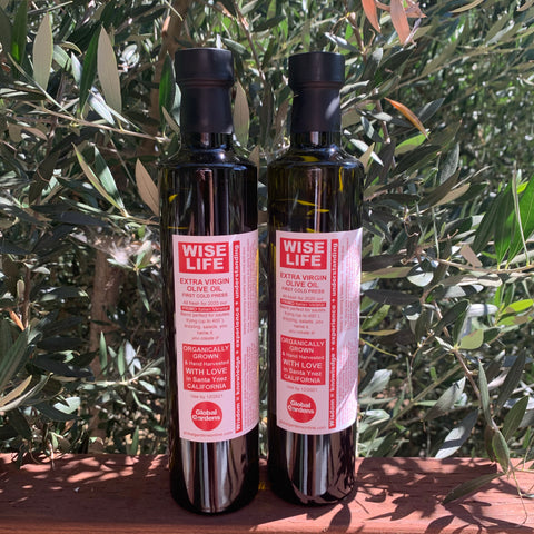 "Primo ""Wise Life"" Organically Grown EVOO Two-Pack"