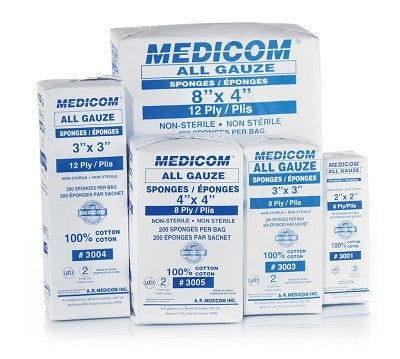 All Gauze Sponges | Non-Sterile