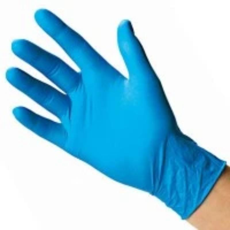 Blue Nitrile Gloves | Powder Free