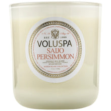 Load image into Gallery viewer, Saijo Persimmon Maison Candle 80 tímar