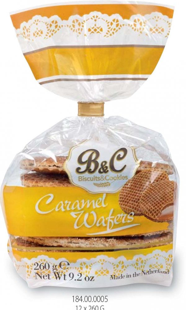 "Biscuits & Cookies ""caramel wafers"""