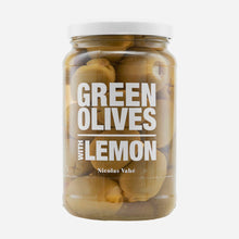 Load image into Gallery viewer, Green Olives - Lemon