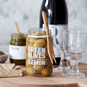 Green Olives - Lemon