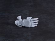 Miniature Scale - Wolf Claws (3 pcs - Right)