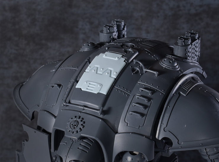 Bulk Head Carapace Hatch