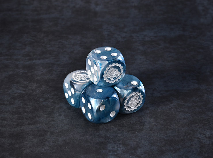 Wolf Dice Set (5 pieces)