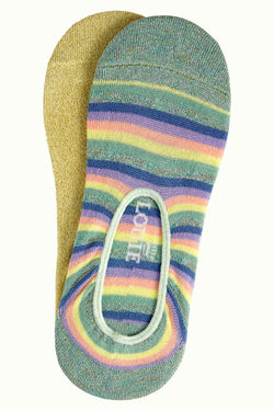 Sokker Footies 2-Pack Dream Stripe - Neptune Green