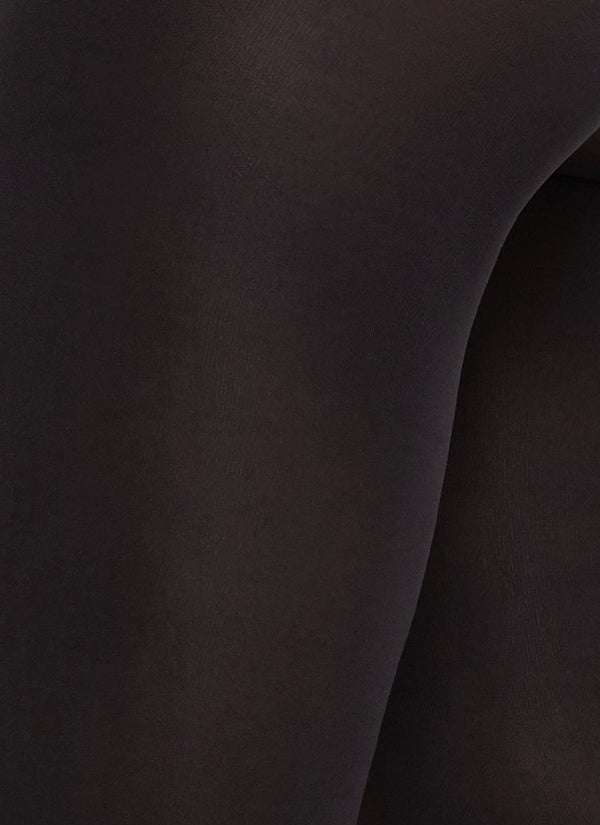 Lia premium tights nesten sort 100 denier