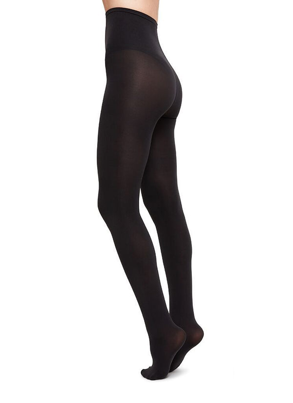 Lia premium tights sort 100 denier