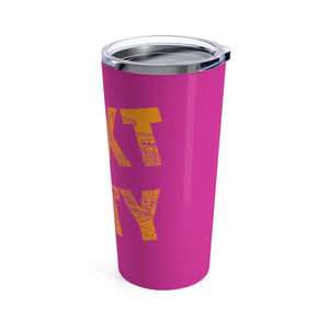Cityscapes Orange Tumbler