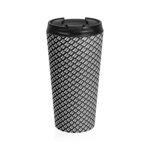 Stainless Steel Travel Mug (black)
