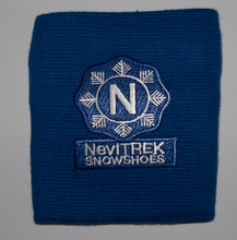Wrist Band with zippered pocket NeviTREK Logo Front
