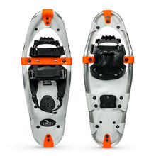 snowshoe model 122 QuickFit Binding and Deep Cleat front and back