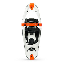 snowshoe model with 121 QuickFit Binding and Ice Cleat front and back