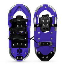 snowshoes Sprinter Series front and back lavender