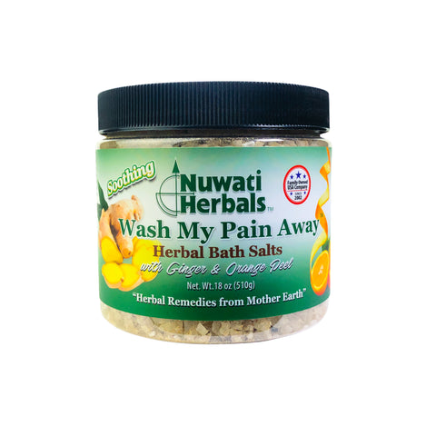 Nuwati Herbals Wash My Pain Away Herbal Bath Salts
