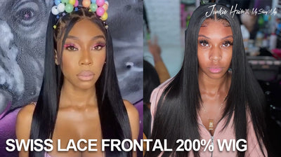 Swiss Lace frontal wig