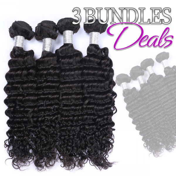 3 Bundles Deal 100% Virgin Hair Fast Shipping | Myshinywigs®
