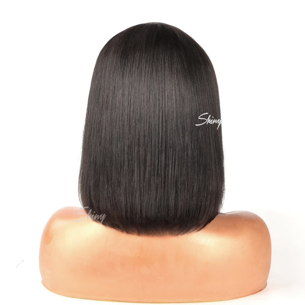 Cleo | Glueless 13x1.5 Lace Frontal Bob Wig 100% Human Hair