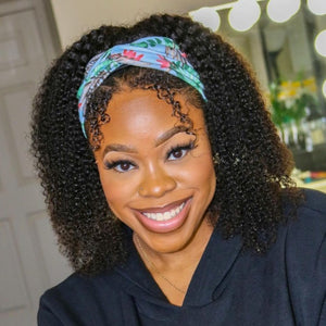 Headband Wig Kinky Curly Beginner Friendly | Myshinywigs®