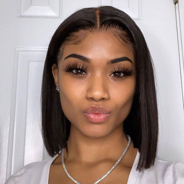 Cami | Bob Wigs Real Pre-plucked 13X1.5 Invisible Swiss Lace Frontal Wig