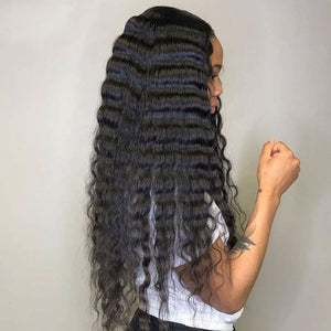 Draya | Lace 5x5 HD Closure Wig Tropical Deep Wave Glueless Closure Wig | Myshinywigs®
