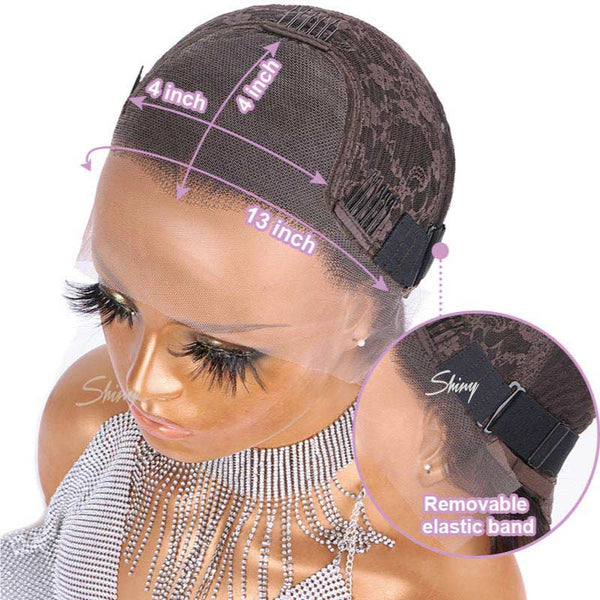 Paisley Glueless undetectable lace 13X4 Lace Frontal Wig Human Hair Wig
