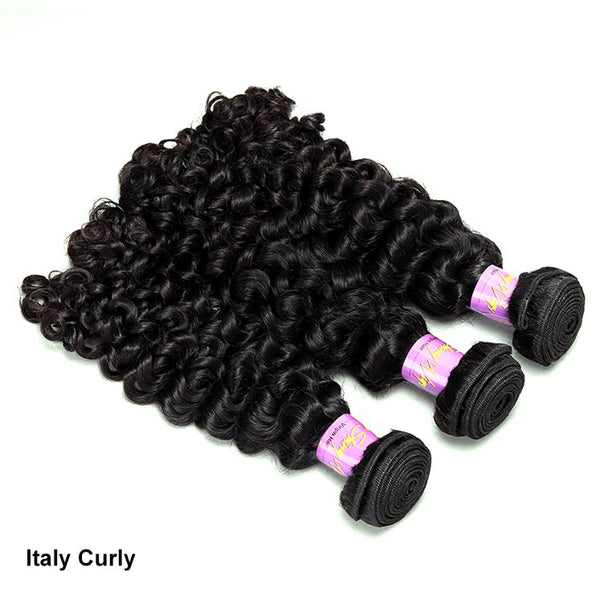 3 Bundles Deal Italy Curly 100% Virgin Hair Fast Shipping | Myshinywigs®