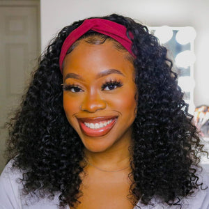 Headband Wig Water Wavy Beginner Friendly | Myshinywigs®